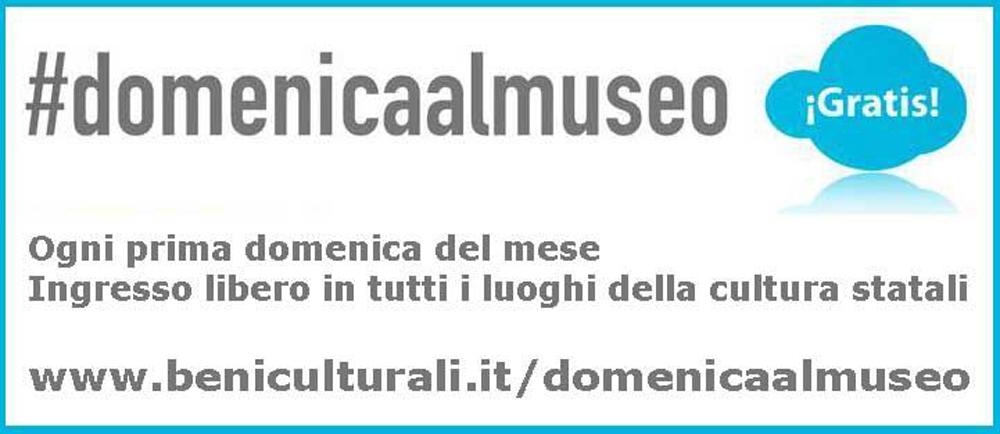 Domenica 5 febbraio. Musei gratis