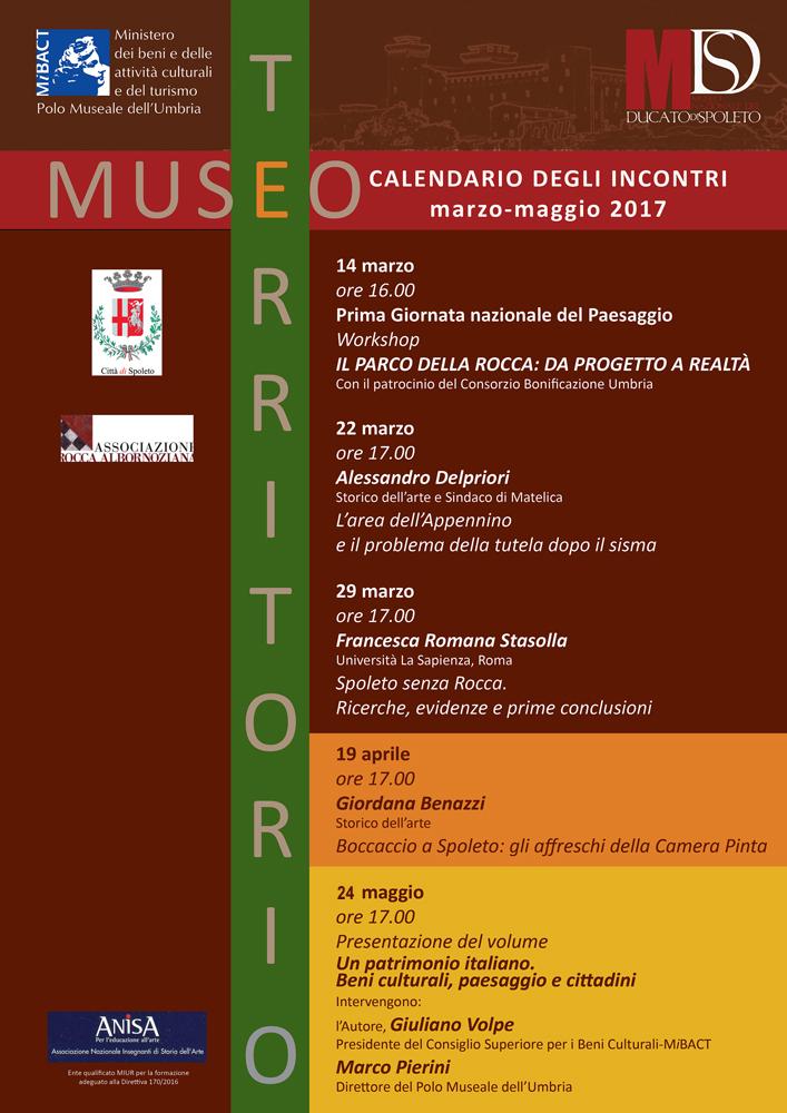 Incontri di arte e archeologia alla Rocca di Spoleto