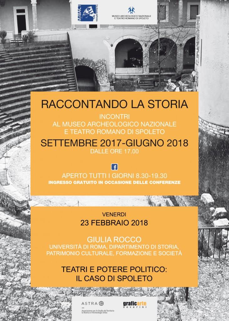 Teatri e potere politico: il caso di Spoleto
