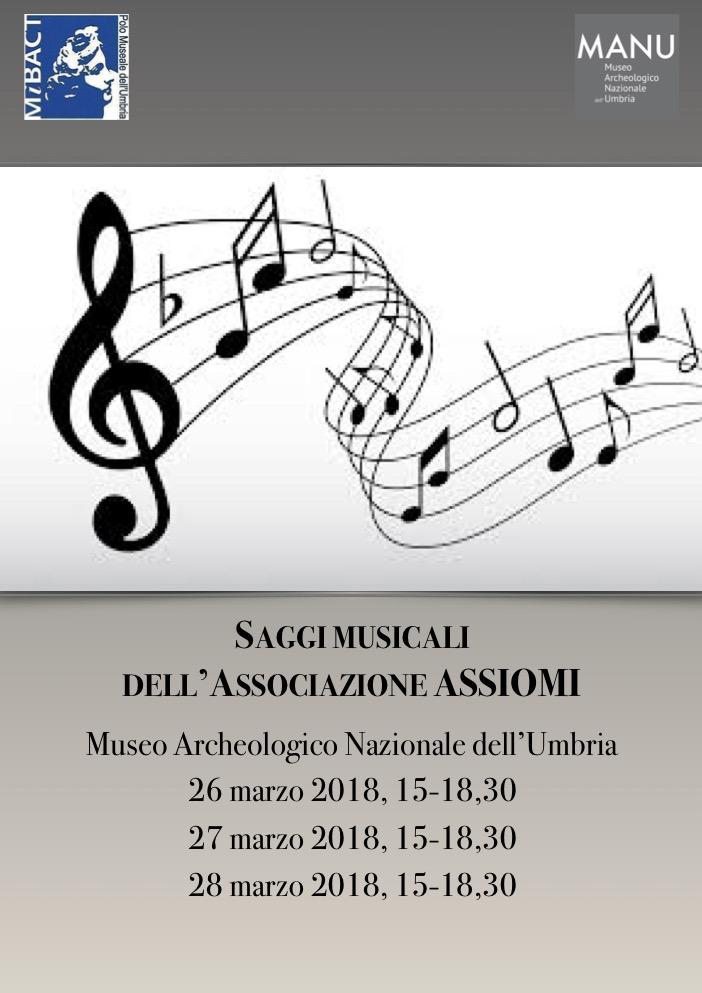 Saggi musicali al Museo Archeologico dell'Umbria