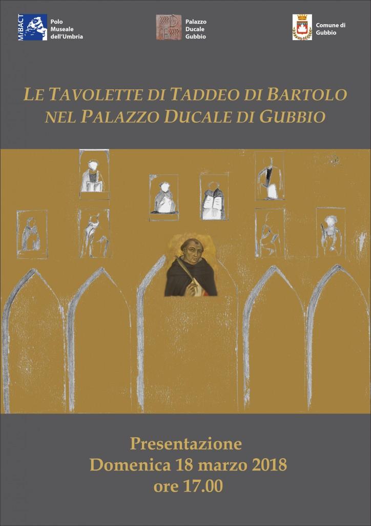 Presentazione delle Tavolette di Taddeo di Bartolo