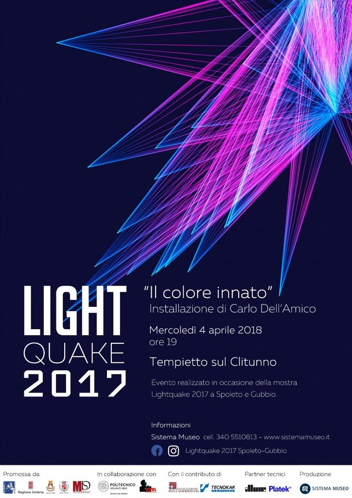 Lightquake illumina il Tempietto
