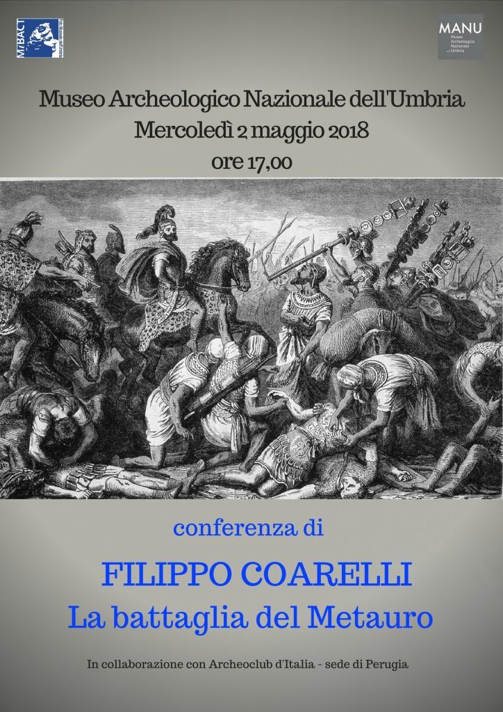 Filippo Coarelli al MANU