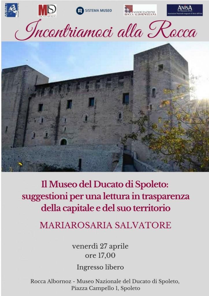 Prima conferenza a Spoleto