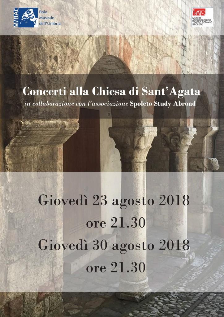 Concerti a Sant'Agata