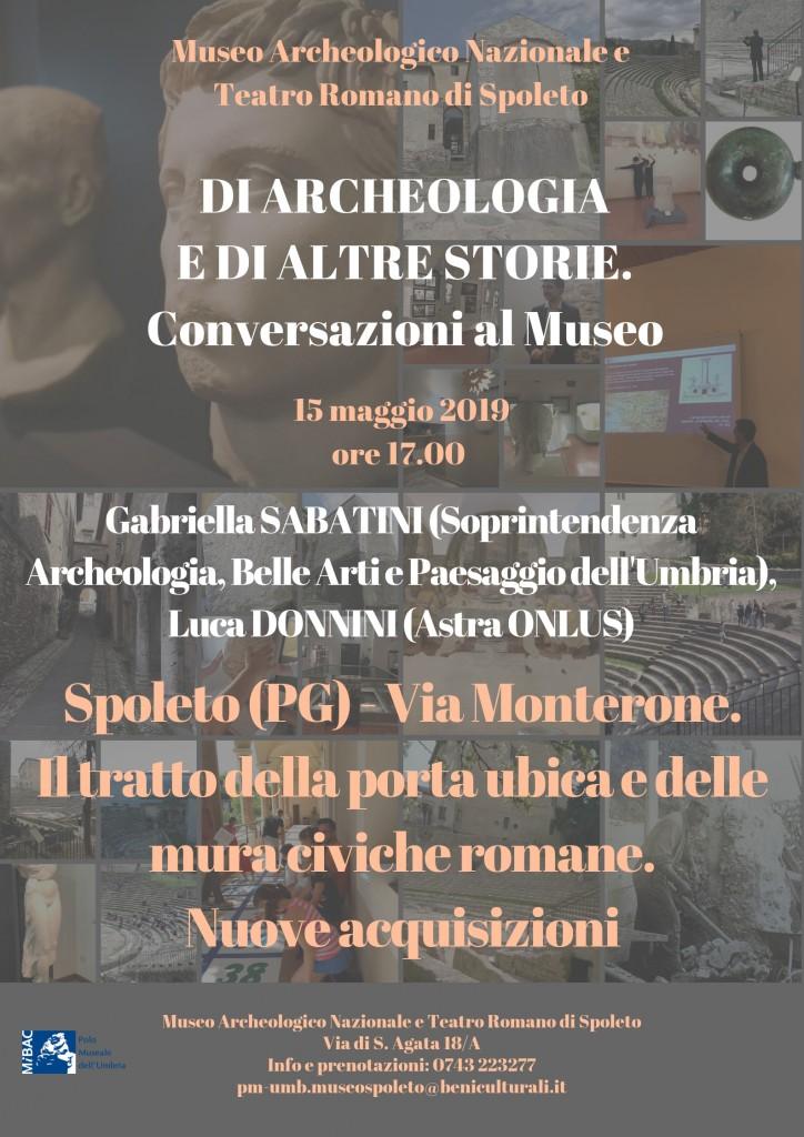 Di archeologia e di altre storie
