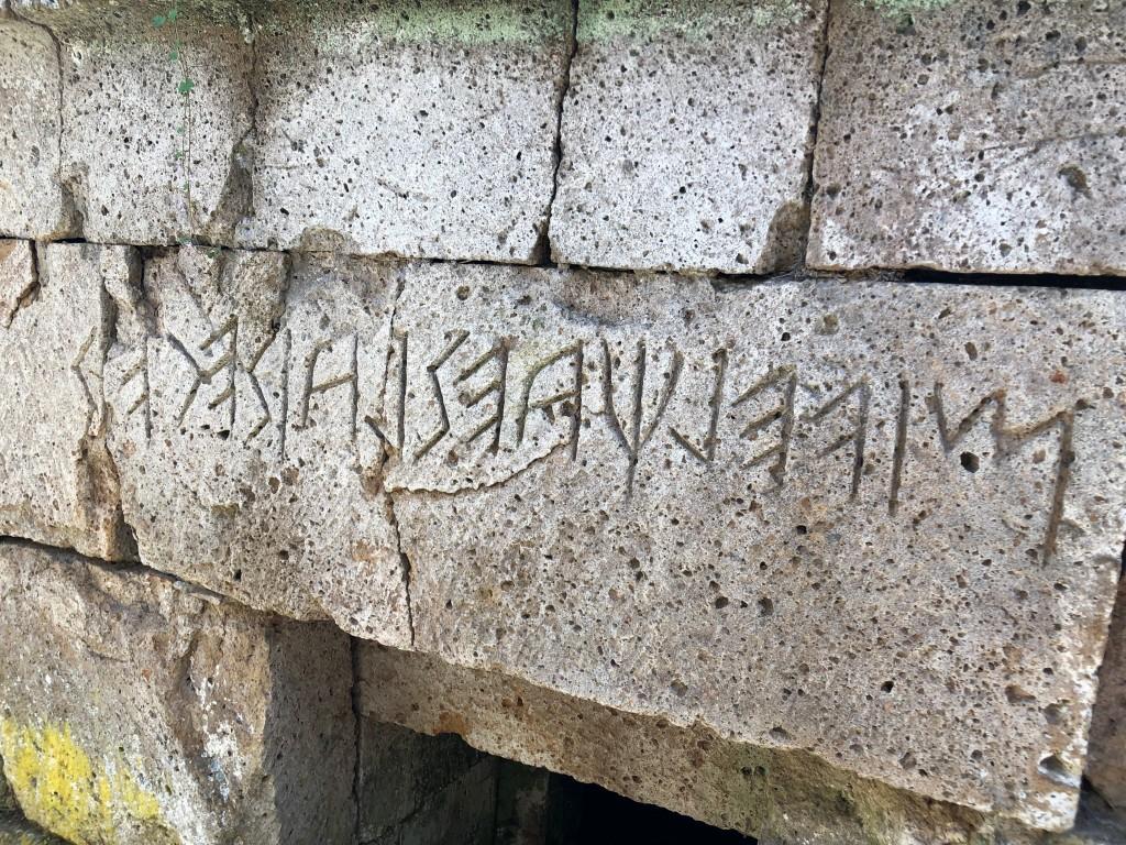 Scrivere etrusco, raccontare Orvieto