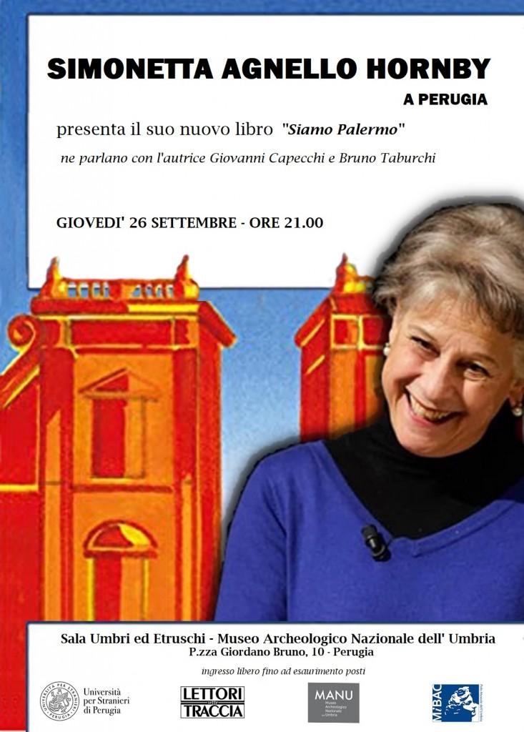 Simonetta Agnello Hornby al museo