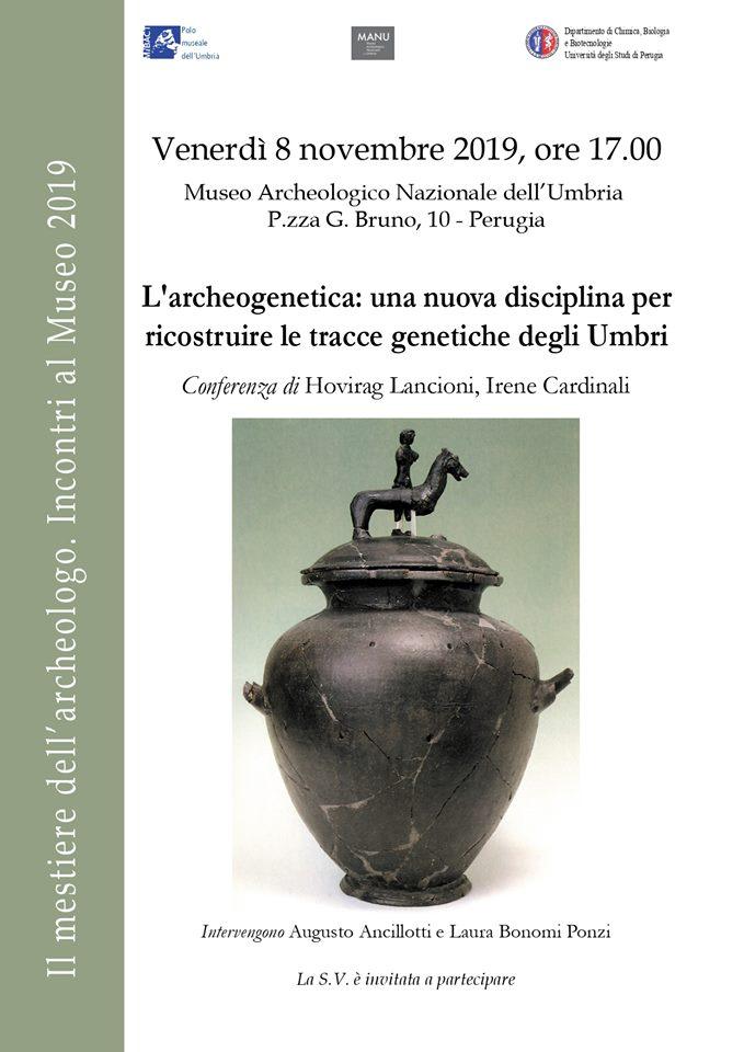 Conferenza sull'archeogenetica