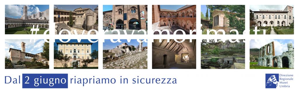 Riaperture dei siti della DRMusei Umbria