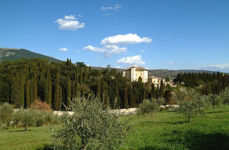 Villa del Colle del Cardinale, veduta del complesso