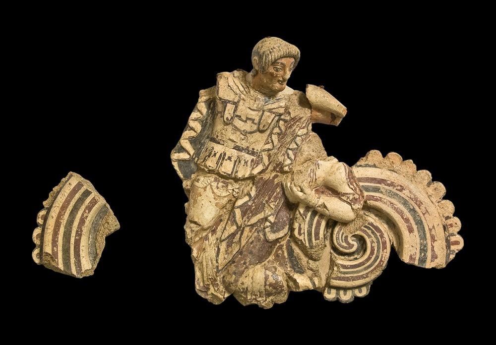 Terracotta templare. 500-480 a.C.