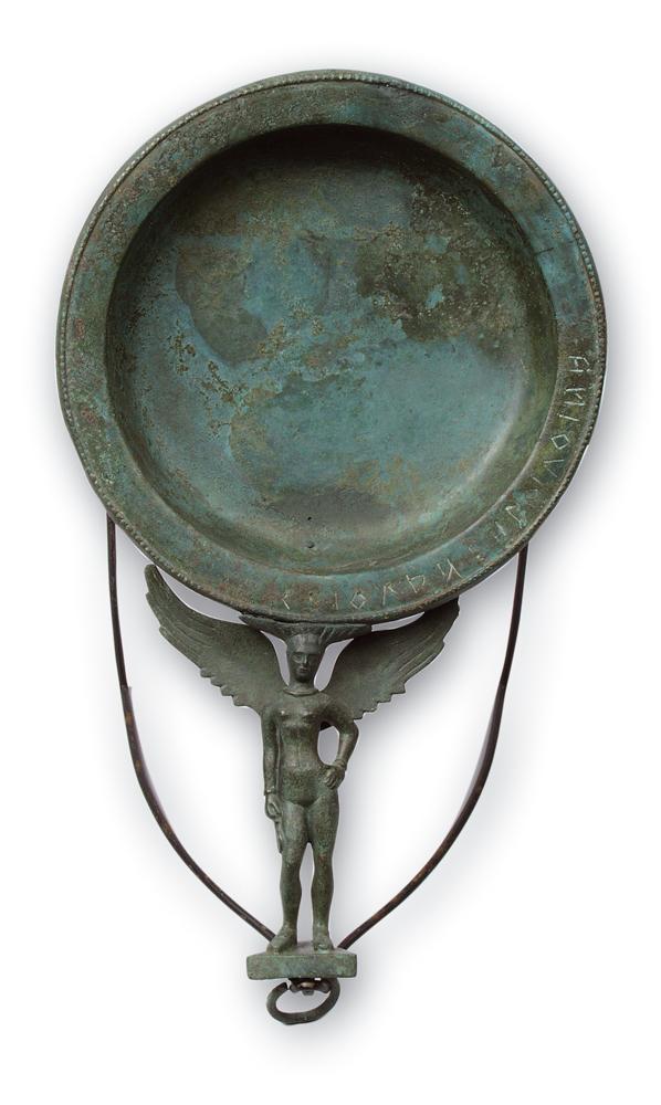 Patera in bronzo. IV sec. a.C.