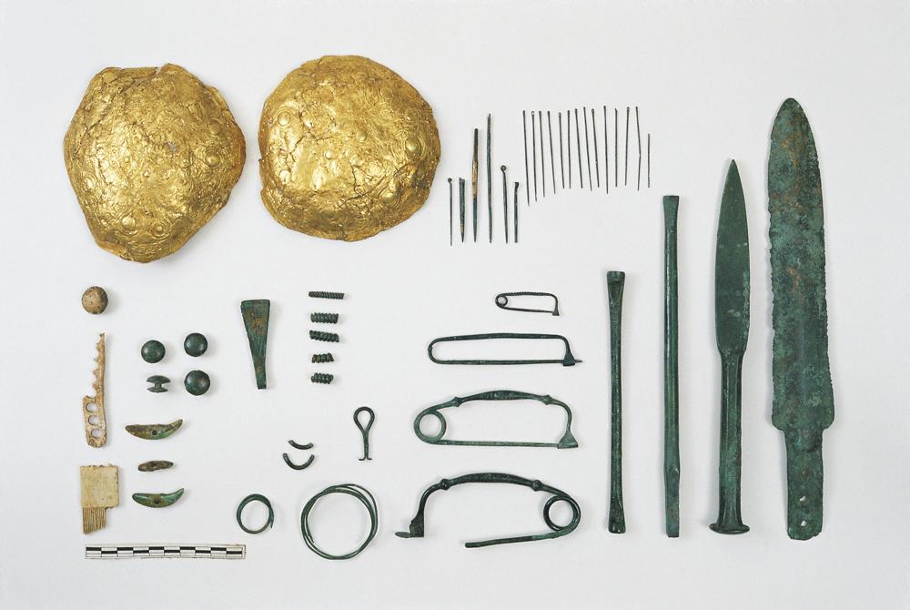 Ripostiglio di metalli. Età del bronzo recente
