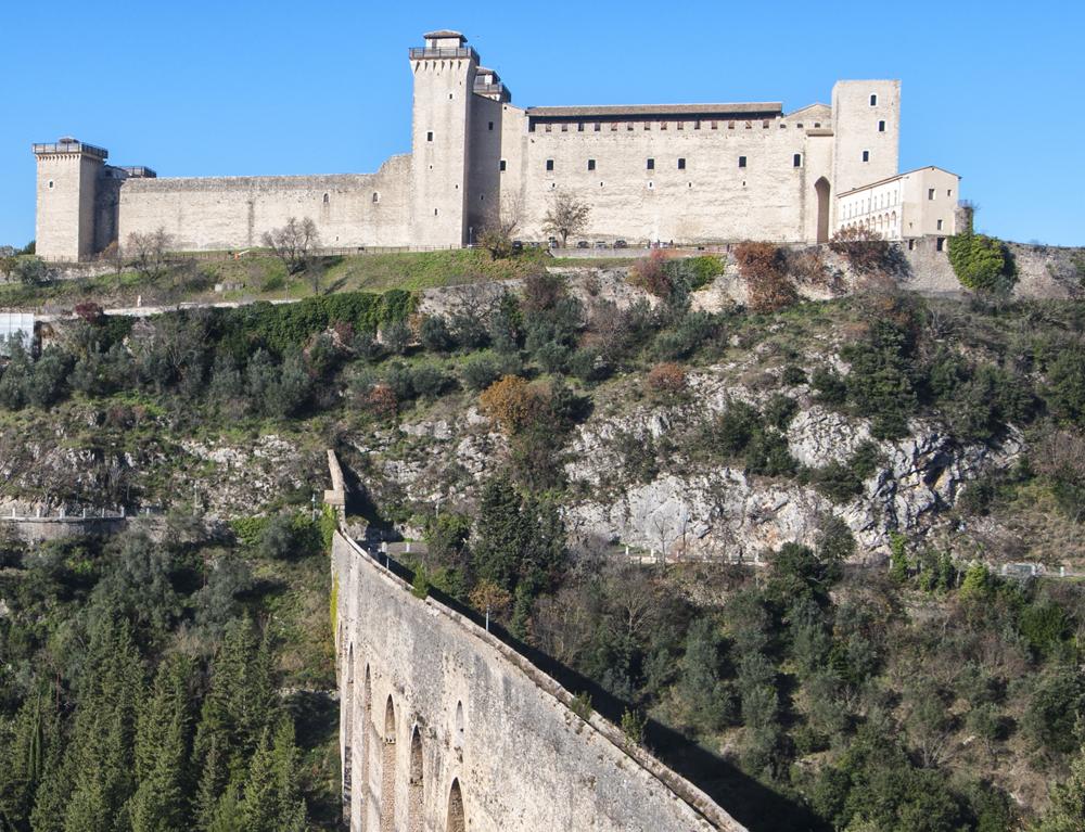 Rocca e ponte di Spoleto