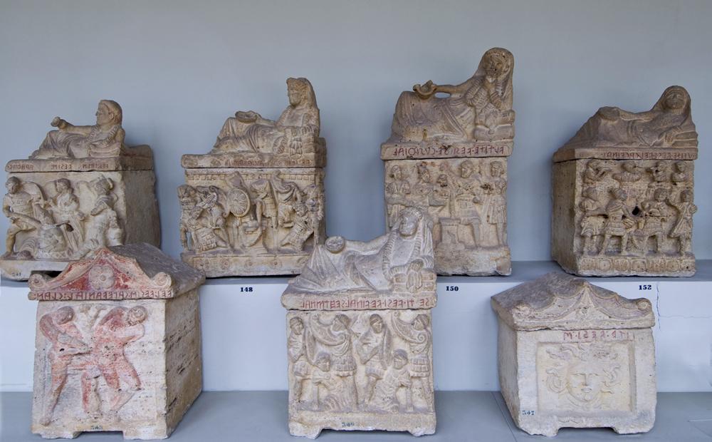 Le urne perugine (fine III-I sec. a.C.)