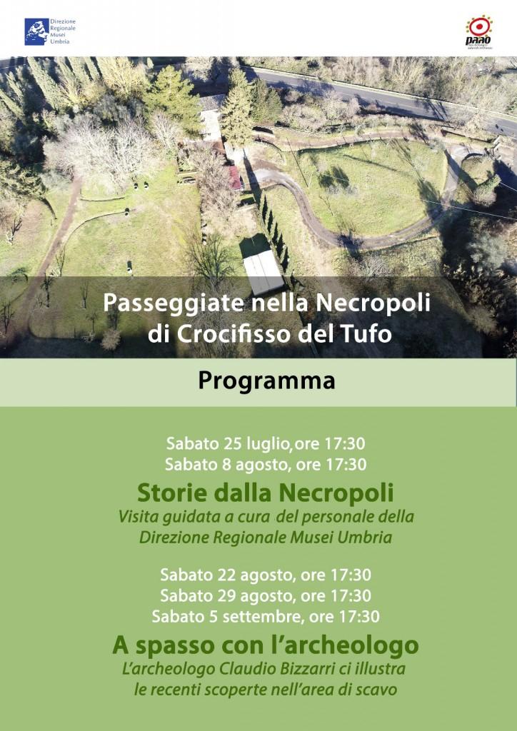 Passeggiate nella Necropoli