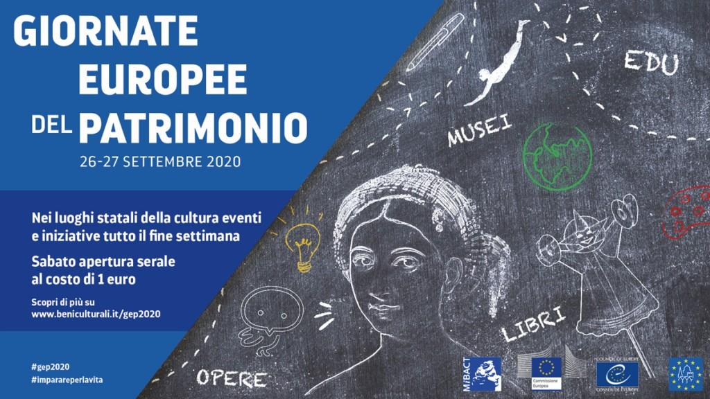Giornate Europee del Patrimonio 26-27 settembre