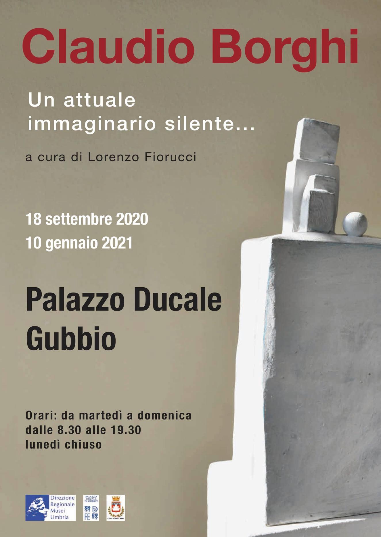 Palazzo ducale di Gubbio, 18.09.2020 – 10.01.2021