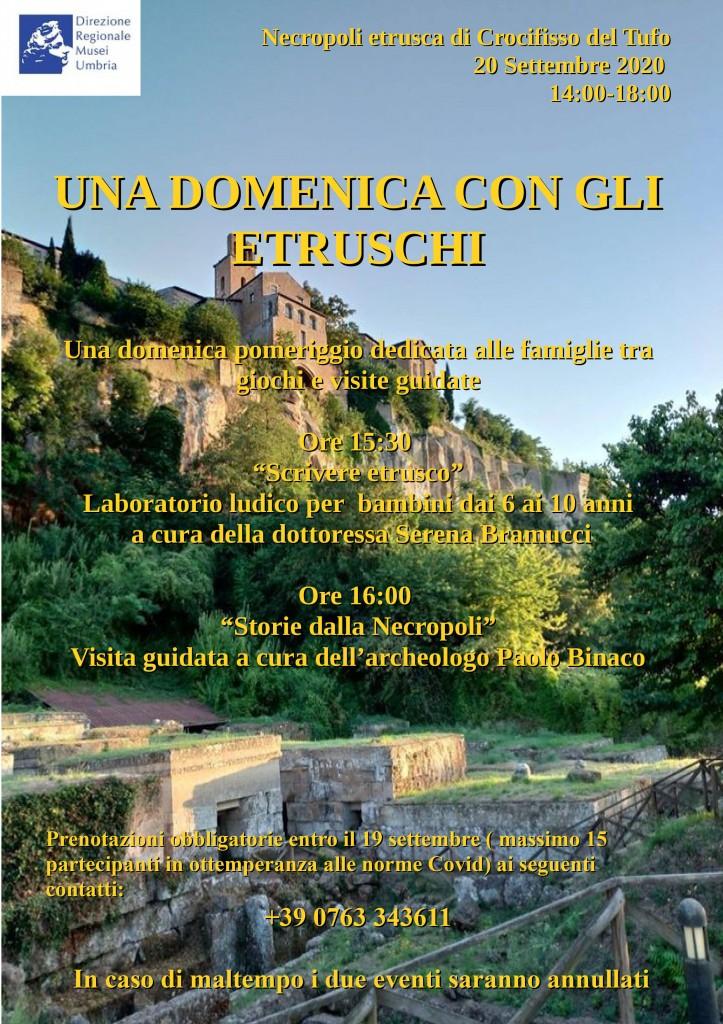 Una domenica con gli Etruschi