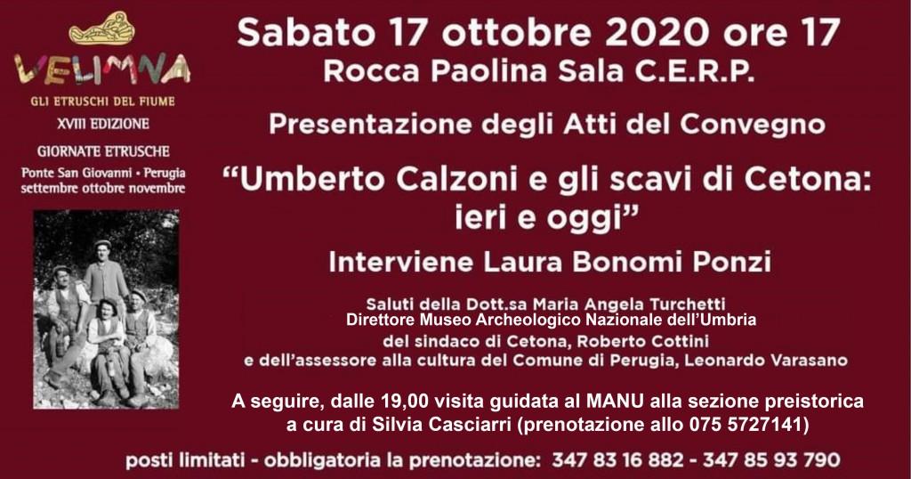 MANU e Sala C.E.R.P. Rocca Paolina, sabato 17 ottobre