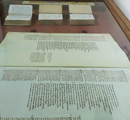 Codice miniato della Divina Commedia