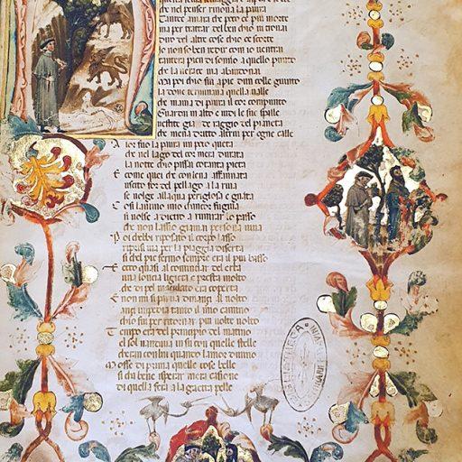Particolare del Manoscritto